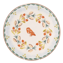 Woodland Owl Everyday Plate - Only 2 left