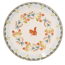 Woodland Squirrel Everyday Plate - 3 available