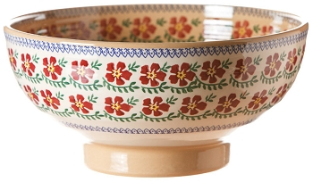 Old Rose Salad Bowl
