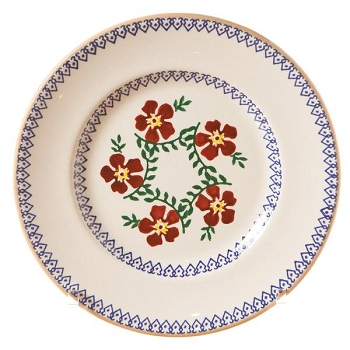 Old Rose Lunch Plate-Retired 1 available