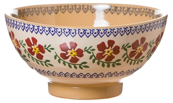 Old Rose Vegetable Bowl