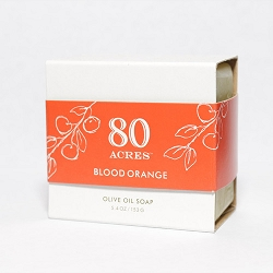 80 Acres Blood Orange Soap