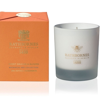 Rathbornes Sweet Orange & Blooms Candle