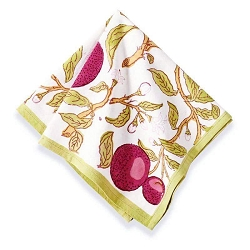 Orange Tree Napkins, Set of 6