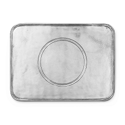 Peltro Pewter Placemat Tray