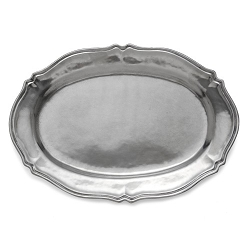 Peltro Scalloped Tray