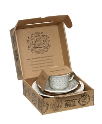 Dove Grey Felicity Teacup Gift Set