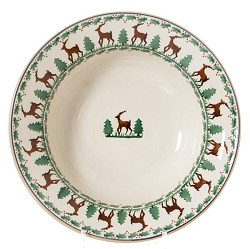 Reindeer Pasta Serving Bowl