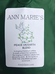 Peace On Earth Blend $5.00 to Save the Children  - November December Only