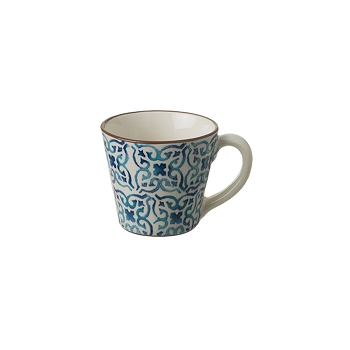 Piastrella - Blue Mug Set/6  13 oz