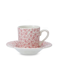 Rose Pink Felicity Espresso Cup/Saucer- 2 available