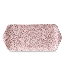 Rose Pink Felicity Rectangular Sandwich Tray