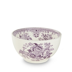 Plum Asiatic Pheasant Small Rice Bowl Retired