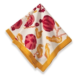 Pomegranate Napkins, Set of 6