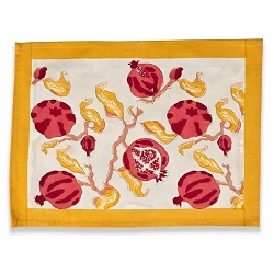 Pomegranate Placemats, Set of 6