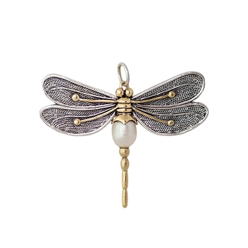 Pearl of Change Dragonfly Pendant