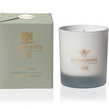 Rathbornes Herbal Woods Candle