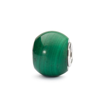 Round Malachite Bead - 2 available
