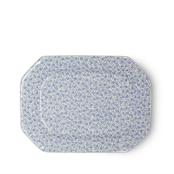 Blue Felicity Small Rectangular Platter