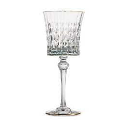 Serena Green Water Glass