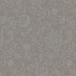 Mille Charmes Taupe Coated Placemats Set/4