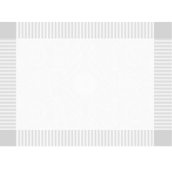 Appoline White Placemat 21