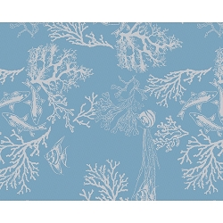 Mille Coraux Ocean Placemat  Set/4 , 100% Cotton
