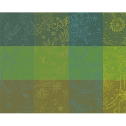 Mille Couleurs Placemats, Coated or Non Coated, Set/4