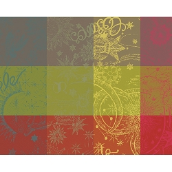 Mille Couleurs Paris Placemats, Coated or Non Coated, Set/4