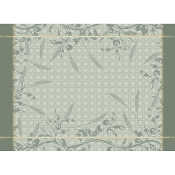Persephone Olive Placemat Set/4, Green Sweet