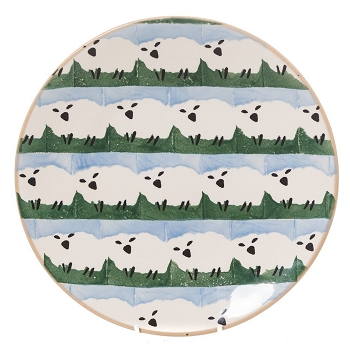 Nicholas Mosse Limited Edition Sheepies Everyday Plate