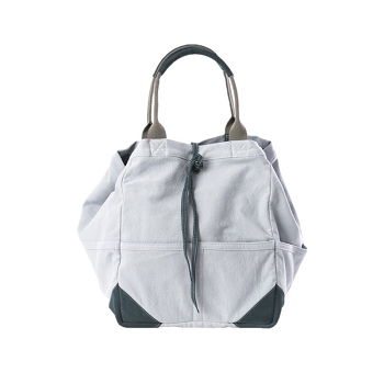 Small Tote Bag- Cotton/Suede -3 colors