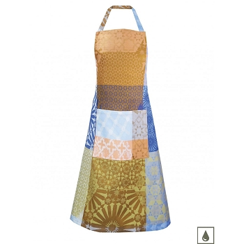 Mille Zelliges Caliente Coated Apron