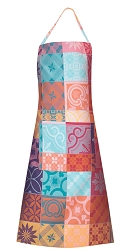 Mille Tiles Multicolore Apron Coated 30
