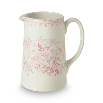 Pink Asiatic Pheasant Medium Tankard Jug - Out of Stock