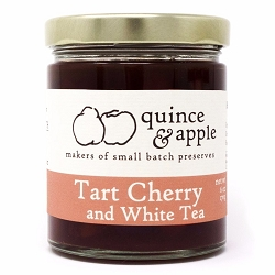 Tart Cherry and White Tea Preserve