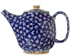 Dark Blue Lawn Teapot