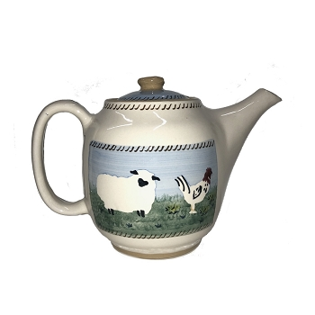 Landscape Mixed Animal Teapot-New Style