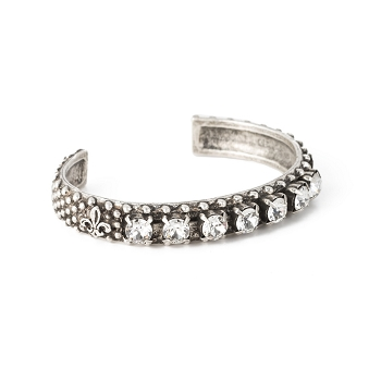 Swarovski Bangle Silver Plated