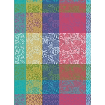 Banc de Poissons Arc En Ciel Kitchen Towel 22