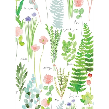 Mille Herbier Kitchen Towel