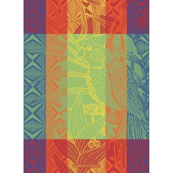 Papagaio Rainbow Kitchen Towel 22