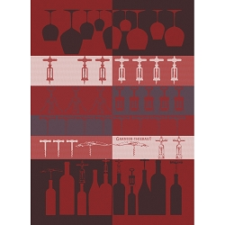 Sommelier Bordeaux Kitchen Towel  22