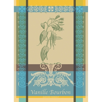 Vanilla Bourbon Eden Kitchen Towel  22