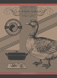 Foie Gras Lisere Rouge Kitchen Towel 22