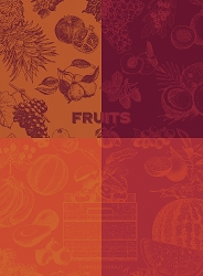 Fruits Rouge Kitchen Towel 22