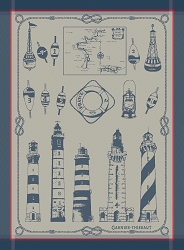 Phares Et Balises Bretagne Kitchen Towel  -Retired-3 available