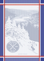 The French Ski Club Kitchen Towel  22