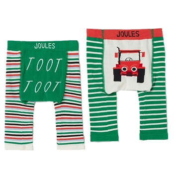 Infant Lively Leggings- Tractor