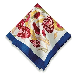 Tulips Napkins, Set of 6  Backordered
